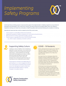 12027 ACSA One Pager Implementing Safety Programs_HR1