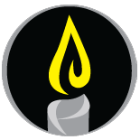 DoM Candle Logo