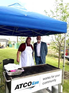 ACSA's New Ft. McMurray Office opening BBQ