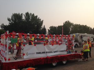PRSC Westerner Days Parade Float