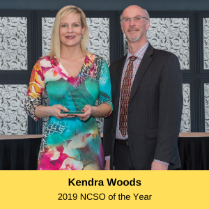 Kendra Woods -NCSO of the Year