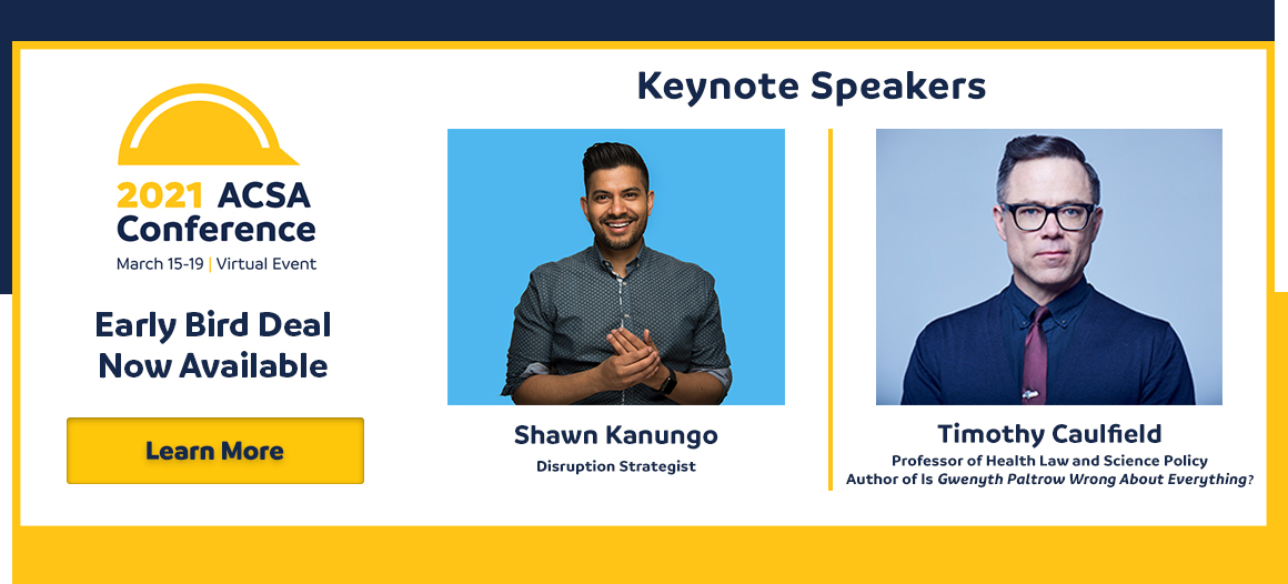 Keynote Speakers 2021 ACSA Conference _ Web Banner_FINAL