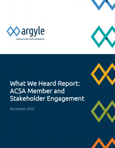 Pages from ACSA_Member and Stakeholder Engagement_What We Heard Report